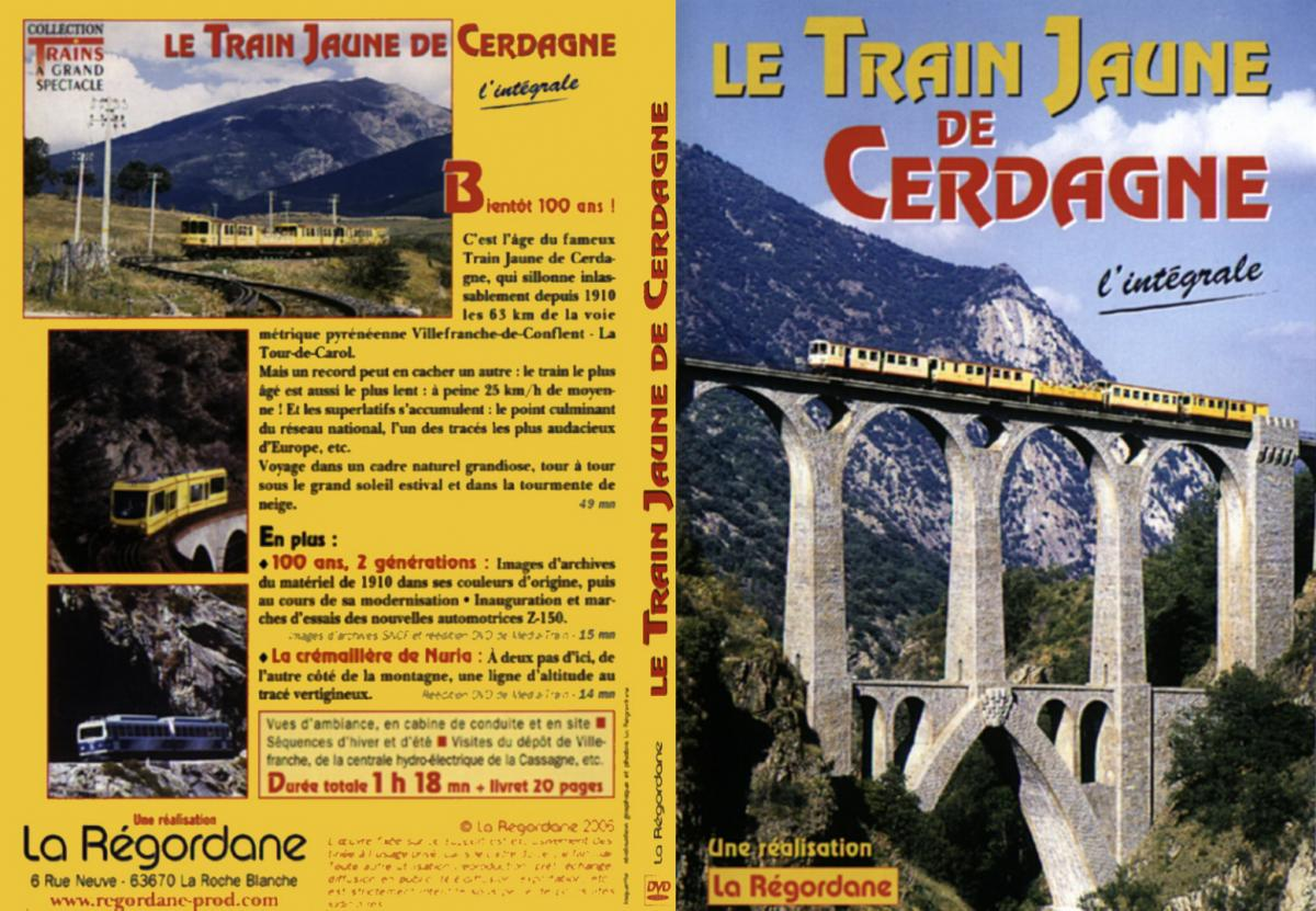 video train jaune de cerdagne