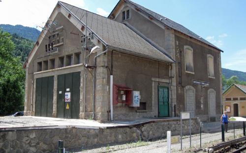 Estació de Fontpedrosa - Banys de Sant Tomàs